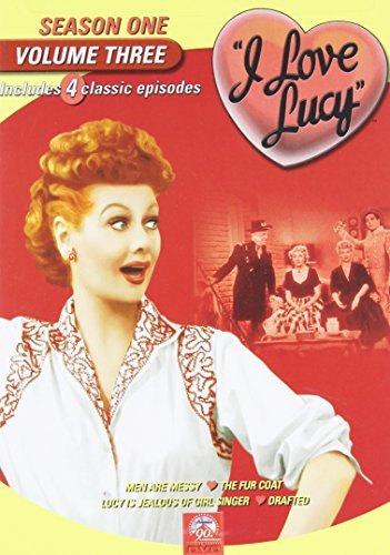 I Love Lucy I Love Lucy Vol. 3 Season One Bw Nr