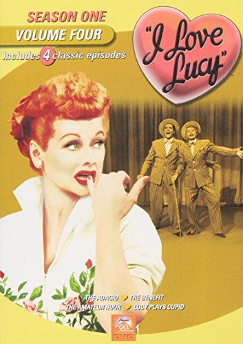 I Love Lucy I Love Lucy Vol. 4 Season One Bw Nr