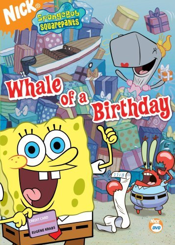 Spongebob Squarepants Whale Of A Birthday Clr Nr