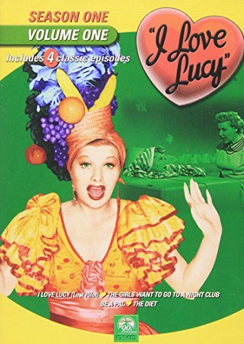 I Love Lucy I Love Lucy Vol. 1 Season 1 Bw Nr