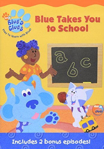 Blue Takes You To School Blue's Clues Nr