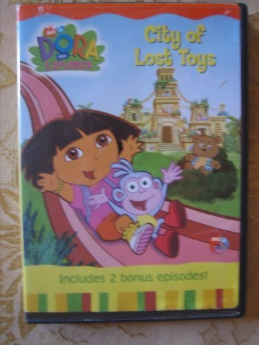 Dora The Explorer City Of Lost Toys