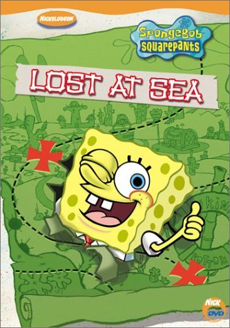 Spongebob Squarepants Lost At Sea DVD Nr