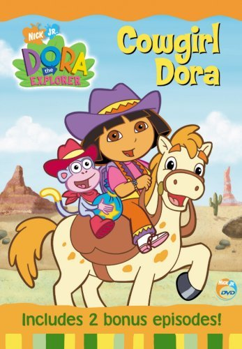 Dora The Explorer Cowgirl Dora Clr Nr