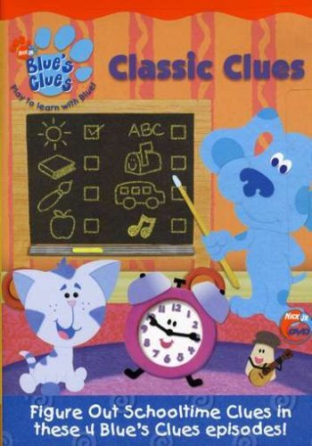Classic Clues Blues Clue's Nr