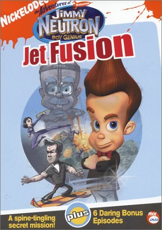 Adventures Of Jimmy Neutron Jet Fusion DVD Nr