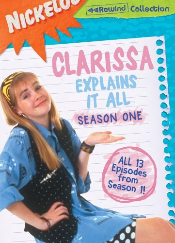 Clarissa Explains It All Season 1 DVD Clarissa Explains It All