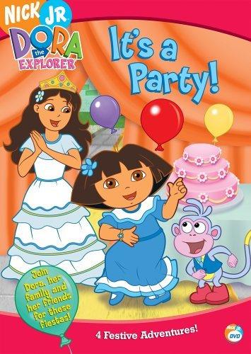 It's A Party Dora The Explorer Nr