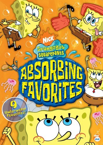 Spongebob Squarepants Absorbing Favorites DVD Nr