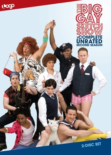 Big Gay Sketch Show Big Gay Sketch Show Season 2 Nr 2 DVD