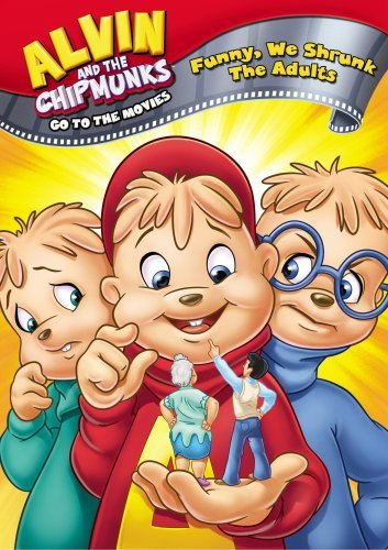 Alvin & The Chipmunks Go To Th Funny We Shrunk The Adults Nr