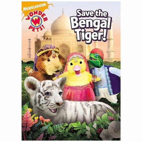Save The Bengal Tiger Wonder Pets Nr