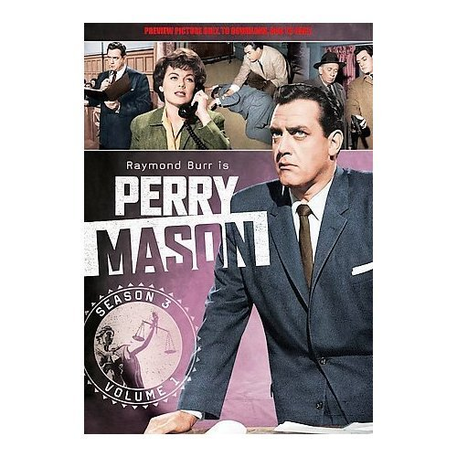 Perry Mason Vol. 1 Season 3 Season 3 Volume 1