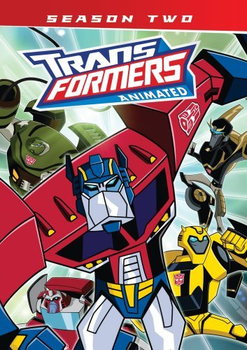 Transformers Animated Season 2 DVD Nr