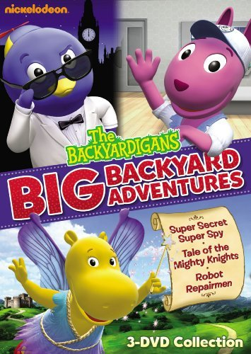 Big Backyard Adventures Backyardigans Nr 3 DVD
