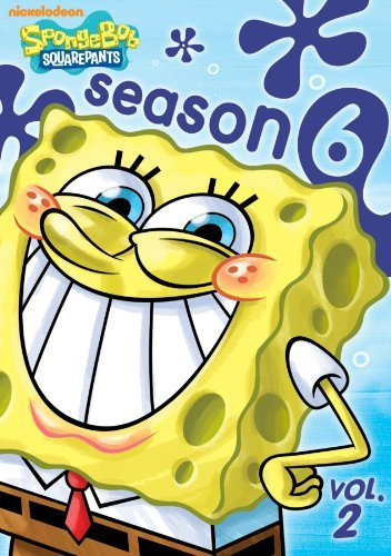 Spongebob Squarepants Vol. 2 Season 6 Nr 2 DVD