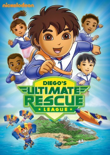 Diego's Ultimate Rescue League Go Diego Go Nr