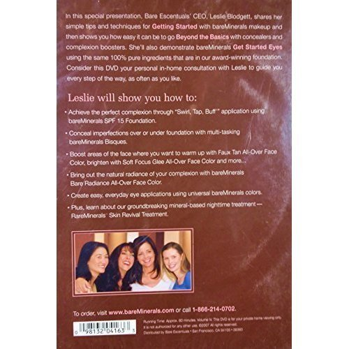 Quick Start To Bare Beauty How To Guide Bareminerals DVD 2007