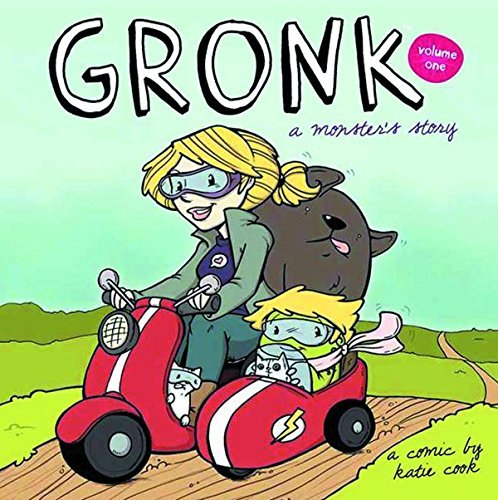 Katie Cook Gronk A Monster's Story Volume 1