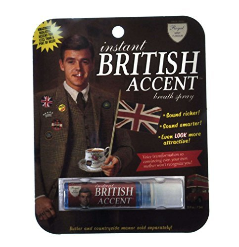 Breath Spray Instant British Accent