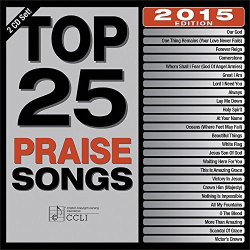 Maranatha Music Top 25 Praise Songs 2015