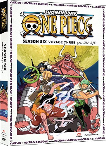 One Piece Season 6 Voyage 3 DVD