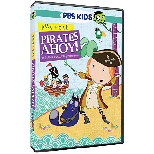 Peg & Cat Pirates Ahoy & Other Really Big Problems DVD