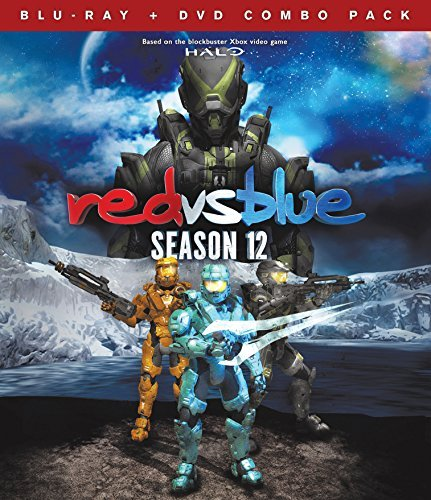 Red Vs. Blue Season 12 Blu Ray