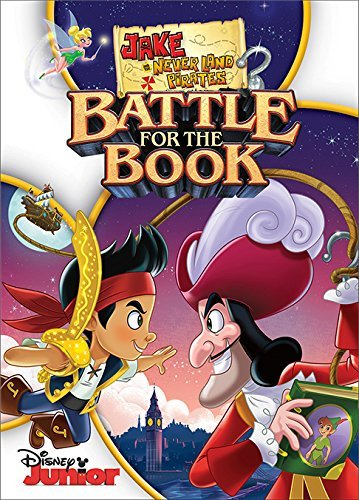Jake & The Neverland Pirates Battle For The Book DVD