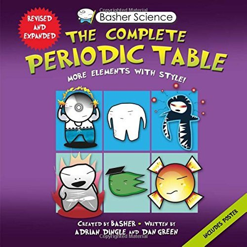 Adrian Dingle Basher Science The Complete Periodic Table All The Elements Wit