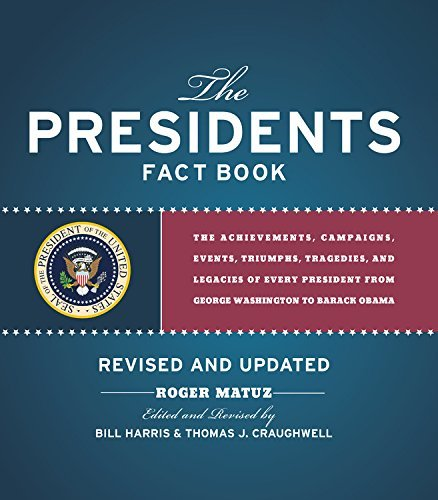 Roger Matuz Presidents Fact Book Revised And Updated! The Achievements Campaigns Events Triumphs An Revised