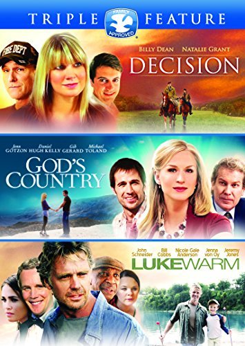 God's Country Lukewarm Decision Triple Feature DVD