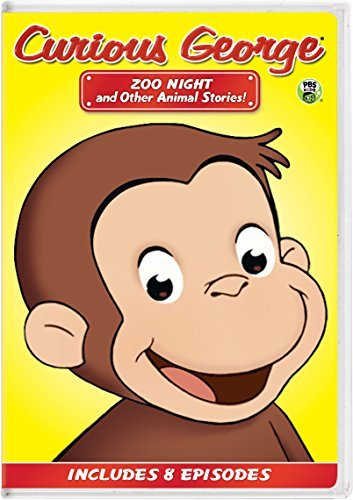 Curious George Zoo Night And Other Animal Stories DVD