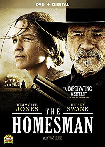 Homesman Swank Jones DVD Dc R
