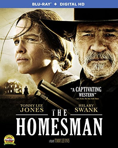 Homesman Swank Jones Blu Ray Dc R