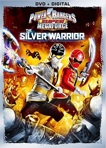 Power Rangers Super Megaforce Silver Warrior DVD