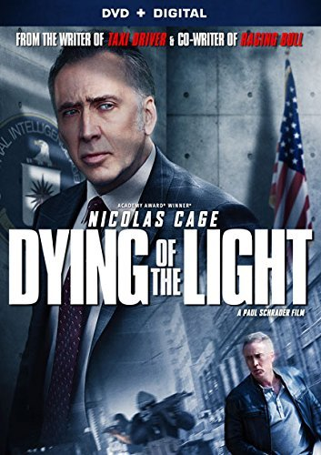 Dying Of The Light Cage Yelchin DVD Dc R