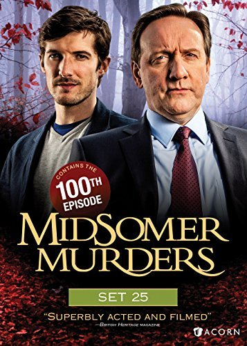 Midsomer Murders Set 25 DVD