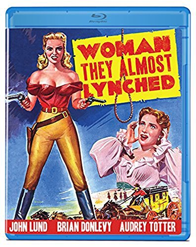 Woman They Almost Lynched Lund Donlevy Totter Blu Ray Nr