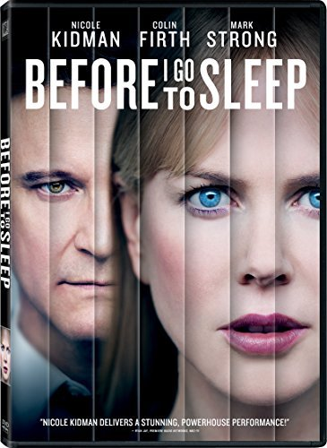 Before I Go To Sleep Kidman Firth Strong DVD R