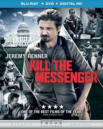 Kill The Messenger Renner Patrick Blu Ray DVD Dc