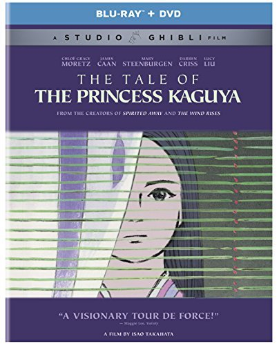 Tale Of The Princess Kaguya Studio Ghibli Blu Ray DVD Pg