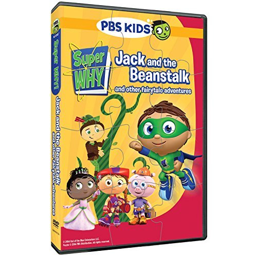 Super Why Jack & The Beanstalk & Other Fairytale DVD Puzzle