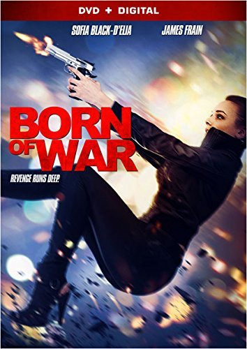 Born Of War Black Delia Frain DVD Dc R