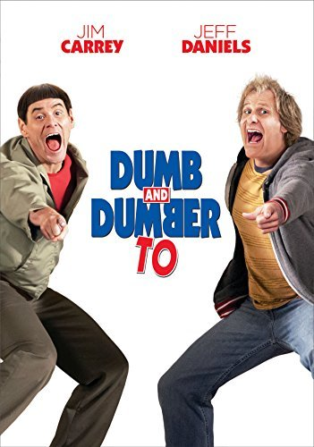 Dumb & Dumber To Carrey Daniels DVD Pg13
