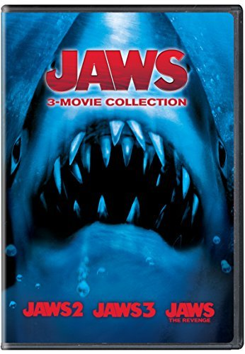 Jaws 3 Movie Collection DVD Pg13