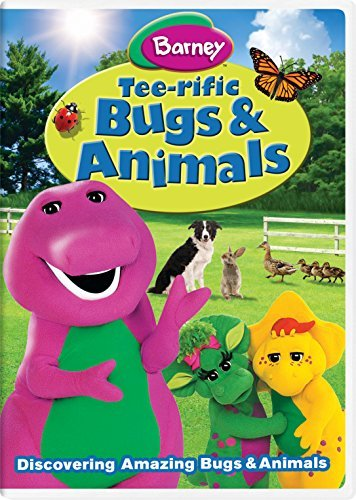 Barney Tee Rific Bugs & Animals DVD
