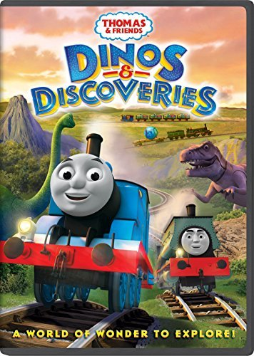 Thomas & Friends Dinos & Discoveries DVD