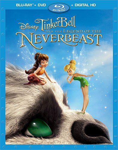 Tinker Bell & The Legend Of The Neverbeast Disney Blu Ray DVD Dc Nr