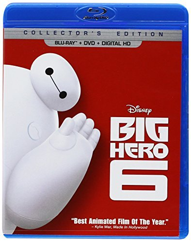 Big Hero 6 Disney Blu Ray DVD Pg